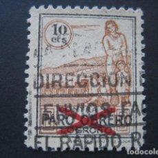 Sellos: SELLO PARO OBRERO LOGROÑO 10 CTS.. Lote 93109200