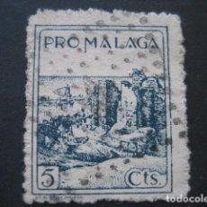 Briefmarken - SELLO PRO MALAGA 5 CTS. - 93109645