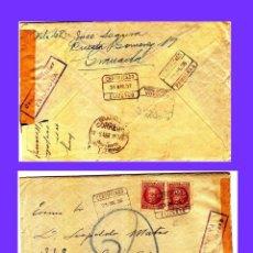 Sellos: GUERRA CIVIL ESPAÑOLA 1936-37 CARTA. Lote 95365395