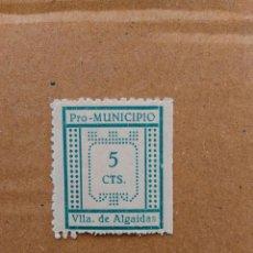 Sellos: VILLA. DE ALGAIDAS. PRO-MUNICIPIOS. 5 CTS.. Lote 95663271