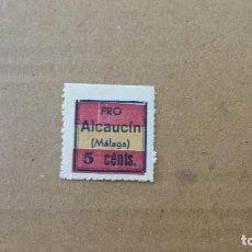 Sellos: ALCAUCIN. 5 CTS.. Lote 95771047