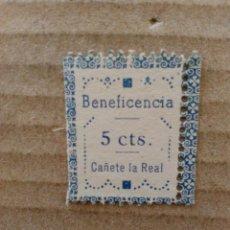 Sellos: CAÑETE LA REAL. BENEFICENCIA. 5 CTS.. Lote 95902435