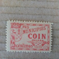 Sellos: COIN. PRO-MUNICIPIOS. 5 CTS.. Lote 95969851