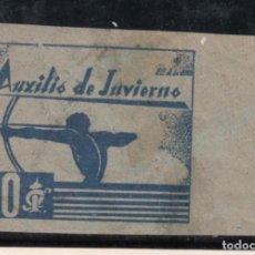 Sellos: ,,,TIMBRE AUXILIO INVIERNO, 9 CON CHARNELA, SIN DENTAR, 10 CTS.. Lote 96631603