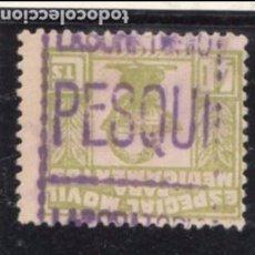 Sellos: ,,,FISCAL TIMBRE MOVIL PARA MEDICAMENTOS, 40 CTS. USADA, MARCA LABORATORIO PESQUI. Lote 96756643