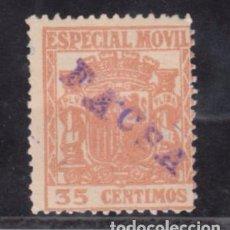 Sellos: ,,,FISCAL ESPECIAL MOVIL, 35 CTS. CON MARCA FACSA. Lote 96785143