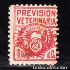 Sellos: ,,,FISCAL PREVISION VETERINARIA, 10 CTS.. Lote 96787363