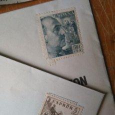 Sellos: SELLO ESPAÑA CORREOS 5 CMS 1937 EL CID (SIN MATASELLAR) REGALO SELLO FRANCO Y SOBRES REINADO SOCIAL . Lote 96831623