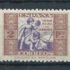 Sellos: R17.G13/ ESPAÑA HUERFANOS DE CORREOS, EDFIFIL 6/8, MNH **, CATALOGO 11,00€. Lote 96913159
