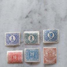 Selos: LOTE DE 6 SELLOS TIMBRE DEL ESTADO.. Lote 97308423