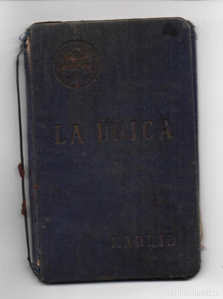 Sellos: MADRID,CARNET, SOCORROS MUTUOS -LA UNICA- CON 9 VIÑETAS DE 5 PTAS, FECHA ENERO/DIC. 1939, VER FOTOS - Foto 5 - 98127447