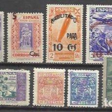 Sellos: 5787-LOTE SELLOS ANTIGUOS ESPAÑA TELEGRAFOS,BENEFICENCIA,HUERFANOS DE CORREOS Y TELEGRAFOS,SIN TASAR. Lote 98433131