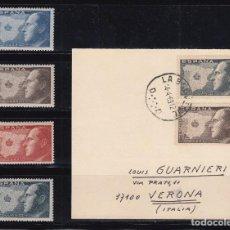 Sellos: JUAN III DE BORBÓN , SERIE DE CUATRO VALORES , . Lote 98439687
