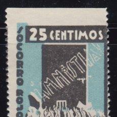 Sellos: VIÑETAS - SOCORRO ROJO INTERNACIONAL - 25 CTS , . Lote 98448783