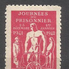 Sellos: C11-INTERESANTE VIÑETA 1942 PRISIONEROS DE GUERRA CRUZ ROJA FRANCIA.COMITÉ CENTRAL DE ASISTENCIA DE. Lote 180239152