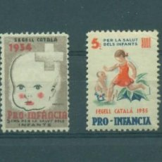 Sellos: SEGELLS PRO-INFANCIA 1933-1934-1935-1936. Lote 98614923