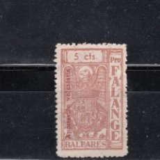 Sellos: BALEARES. FALANGE. 5 CTS.. Lote 98648915