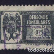 Sellos: S-0841- FISCAL. DERECHOS CONSULARES.. Lote 98795327