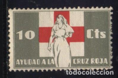 S-0843- AYUDAD A LA CRUZ ROJA. (Sellos - España - Guerra Civil - Viñetas - Nuevos)