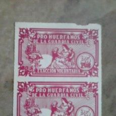 Sellos: SELLOS PRO HUERFANOS DE LA GUARDIA CIVIL. 25 PESETAS.. Lote 99177947