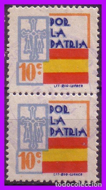 ASTURIAS, GUERRA CIVIL, FESOFI Nº 9 B2 (O) (Sellos - España - Guerra Civil - De 1.936 a 1.939 - Nuevos)