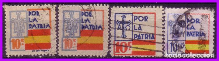 ASTURIAS, GUERRA CIVIL, FESOFI Nº 7, 9, 13 Y 14 (O) (Sellos - España - Guerra Civil - De 1.936 a 1.939 - Nuevos)