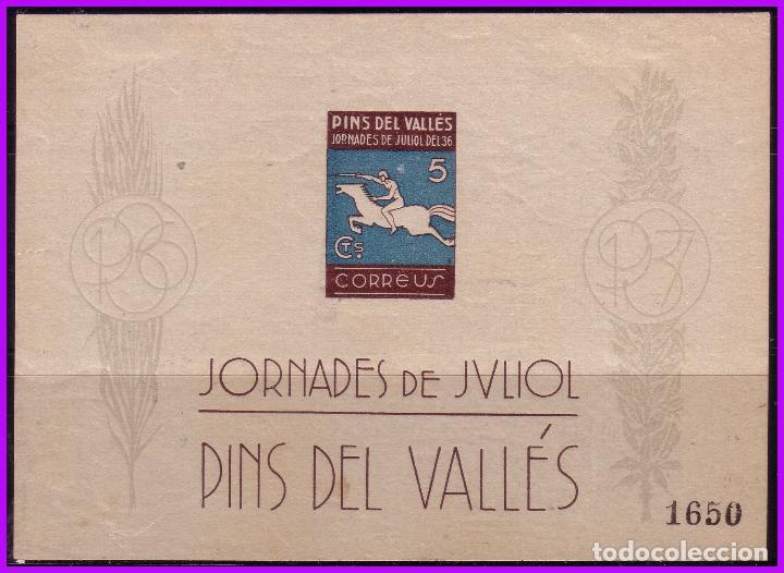 BARCELONA PINS DEL VALLÉS, GUERRA CIVIL, FESOFI Nº 36 * (Sellos - España - Guerra Civil - De 1.936 a 1.939 - Nuevos)