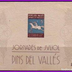 Sellos: BARCELONA PINS DEL VALLÉS, GUERRA CIVIL, FESOFI Nº 36 *. Lote 99355939