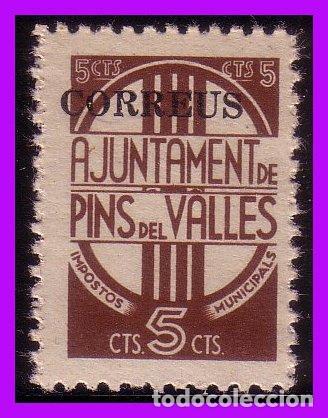 BARCELONA PINS DEL VALLÉS GUERRA CIVIL, FESOFI Nº 38 * * (Sellos - España - Guerra Civil - De 1.936 a 1.939 - Nuevos)