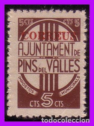 BARCELONA PINS DEL VALLÉS GUERRA CIVIL, FESOFI Nº 39 * * (Sellos - España - Guerra Civil - De 1.936 a 1.939 - Nuevos)