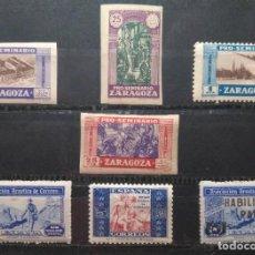 Sellos: LOTE DE SELLOS, PRO-SEMINARIO ZARAGOZA Y BENEFICENCIA, SIN CIRCULAR.. Lote 99399371