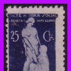Sellos: BARCELONA BARCELONA GUERRA CIVIL, FESOFI Nº 116 (*). Lote 99422331
