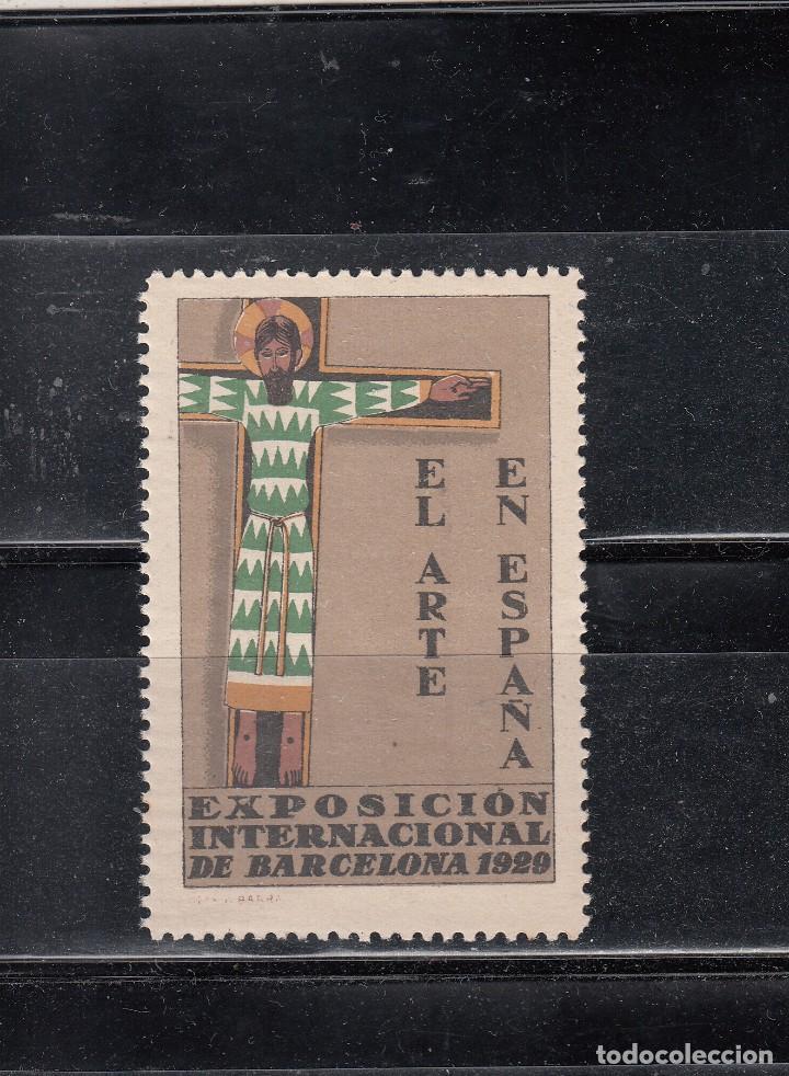 EL ARTE EN ESPAÑA. EXPO INTERNACIONAL DE BARCELONA 1929 (Sellos - España - Guerra Civil - Viñetas - Nuevos)
