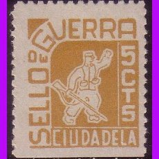Sellos: BALEARES CIUDADELA GUERRA CIVIL FESOFI Nº 12 * *. Lote 99496499