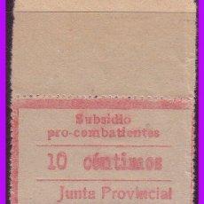 Sellos: GUIPÚZCOA, GUERRA CIVIL FESOFI Nº 9 * *. Lote 100229019