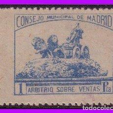 Francobolli: MADRID, MADRID, GUERRA CIVIL FESOFI Nº 70 * *. Lote 100394163