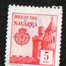 Sellos: SELLO LOCAL DIPUTACION FORAL DE NAVARRA 5 PESETAS. Lote 100648651