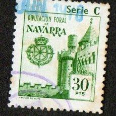 Sellos: SELLO LOCAL DIPUTACION FORAL DE NAVARRA 30 PESETAS. Lote 100649071
