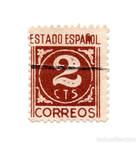 Sello correos estado español 2 centimos cts - Sold at Auction - 101630779