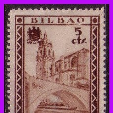 Sellos: VIZCAYA, BILBAO, GUERRA CIVIL, FESOFI Nº 17 (*). Lote 102470759
