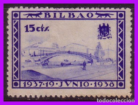 VIZCAYA, BILBAO, GUERRA CIVIL, FESOFI Nº 26 (*) (Sellos - España - Guerra Civil - Locales - Nuevos)