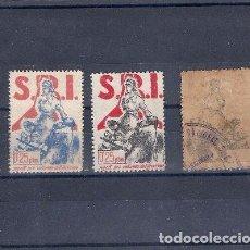 Sellos: ESPAÑA REPUBLICA.AÑO 1937.SOCORRO ROJO INTERNACIONAL.. Lote 102611063