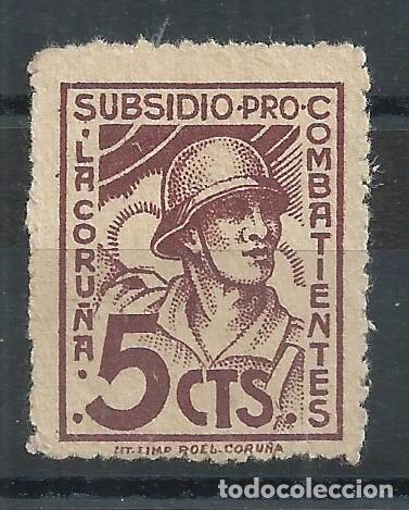 R25/ ESPAÑA LUGO, LOCALES PATRIOTICOS, NUEVOS ** (Sellos - España - Guerra Civil - De 1.936 a 1.939 - Nuevos)