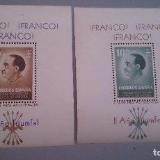 Sellos: MALAGA - FUENTE DE PIEDRA - GUERRA CIVIL- MNH** -HOJAS NUEVAS -FESOFI N. 18/19 - COCINAS ECONOMICAS. Lote 103170815