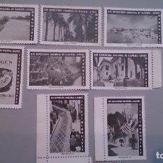 Sellos: 1952 - SERIE VIÑETAS XIII EXPOSICION NACIONAL CLAVELES - SITGES - CORPUS 1952 - MNG. Lote 103216787
