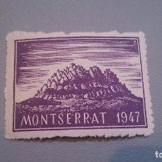 Sellos: 1947 - VIÑETA MONTSERRAT 1947 - MNH** - NUEVA SIN FIJASELLOS.. Lote 103221751