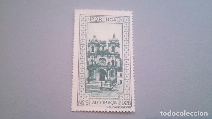 1928 - VIÑETA - PORTUGAL - ALCOBACA - N 9 - 1928 - MNG - NUEVO SIN GOMA. (Sellos - España - Guerra Civil - Viñetas - Nuevos)