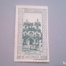 Sellos: 1928 - VIÑETA - PORTUGAL - ALCOBACA - N 9 - 1928 - MNG - NUEVO SIN GOMA.. Lote 103241099