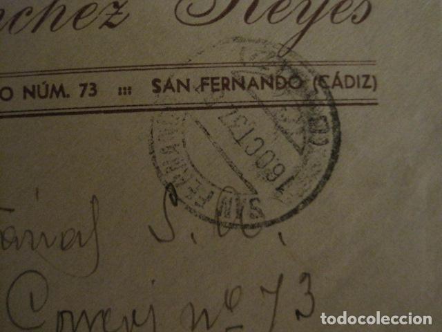 Sellos: CENSURA MILITAR CADIZ - LA ESPAÑOLA - LA INGLESA -CARTA - VER FOTOS - (V-12.663) - Foto 4 - 103316667