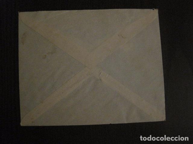 Sellos: CENSURA MILITAR CADIZ - LA ESPAÑOLA - LA INGLESA -CARTA - VER FOTOS - (V-12.663) - Foto 5 - 103316667
